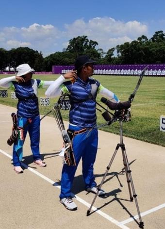 Archers Deepika, Atanu Das have first training session in Tokyo