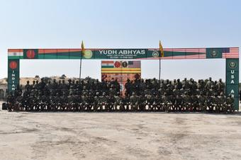 India-US joint military exercise 'Yudh Abhyas' concludes