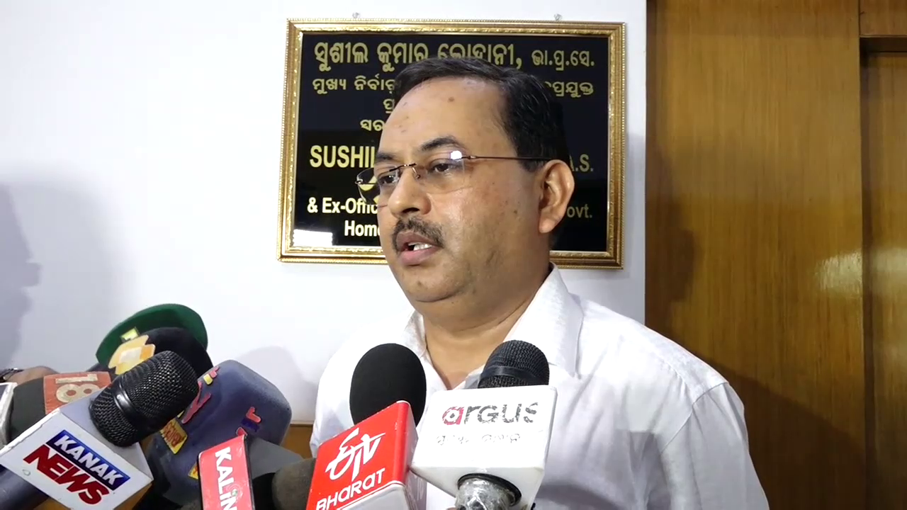 Fully ready for Pipili by-poll, says Odisha CEO Lohani