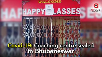 Coaching centre in Bhubaneswar sealed for violating Covid norms