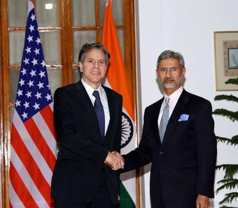 Blinken discusses Myanmar situation with Jaishankar