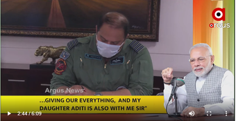 """PM talks to Odia Captain of Air Force in """"Mann Ki Baat"""""""