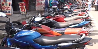 Bike lifters' gang busted in Cuttack, 22 stolen motorcycles recovered, 5 held