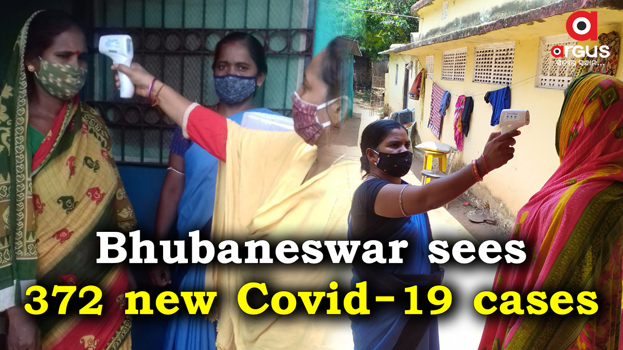Bhubaneswar reports 372 new Covid-19 cases; Active cases stand at 1,371