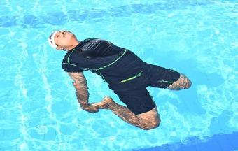 Drowning deaths can be averted by practicing Aqua Yoga, says trainer Ashok Baral