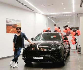 Kartik Aaryan buys swanky Lamborghini worth 4.5cr