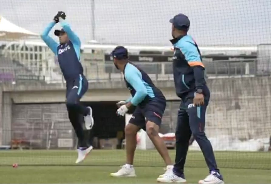 WTC final: India team begins group training, practice in Southampton