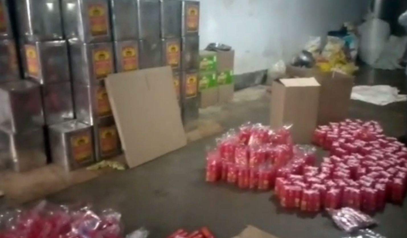 Duplicate ghee manufacturing unit busted in Ganjam; raw materials, machinery seized