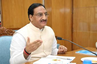 Education Min Nishank in AIIMS for post Covid complication