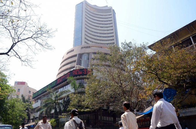 Sensex up 350 points, auto stocks surge