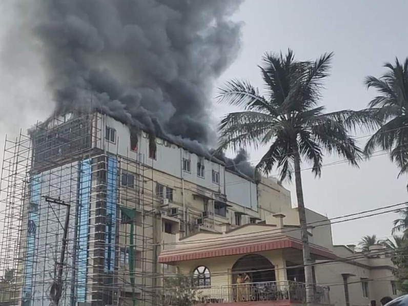 Cuttack Sun Hospital shut temporarily over fire mishap