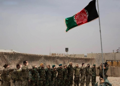 US forces in Afghanistan hand over base