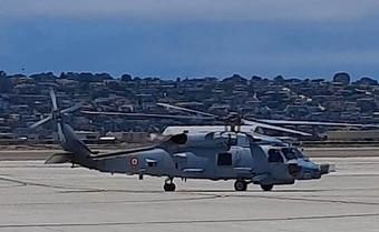 Indian Navy accepts 1st batch of two MH-60R Multi Role Helicopters from US