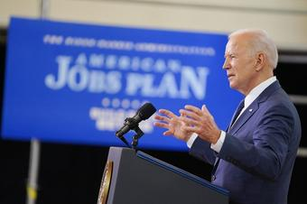 Biden unveils $2tn infrastructure, jobs plan