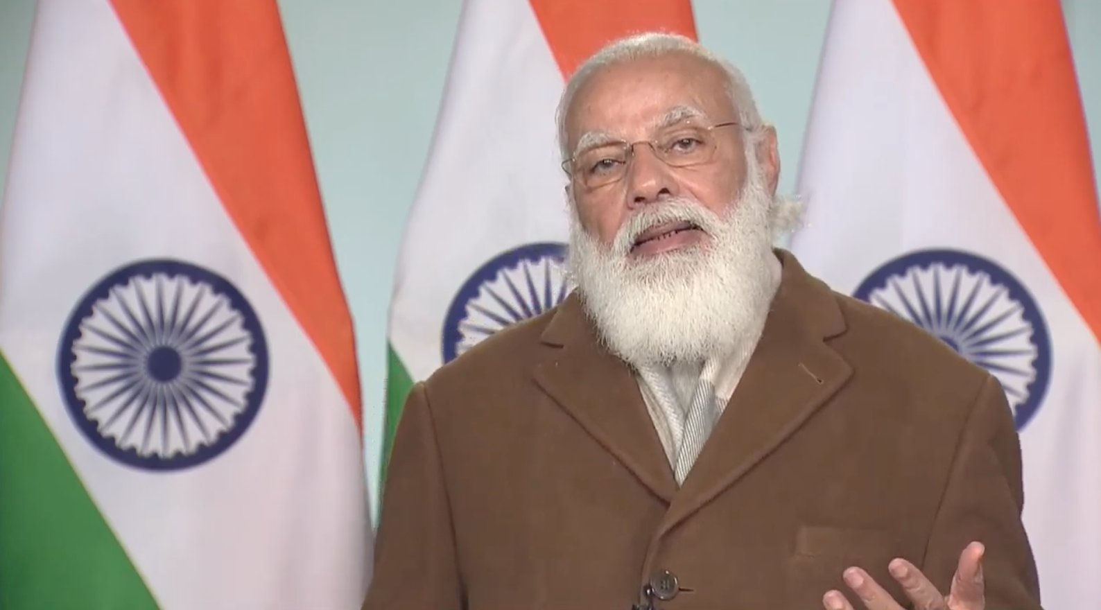 End agitation, hold talks: Modi to farmers
