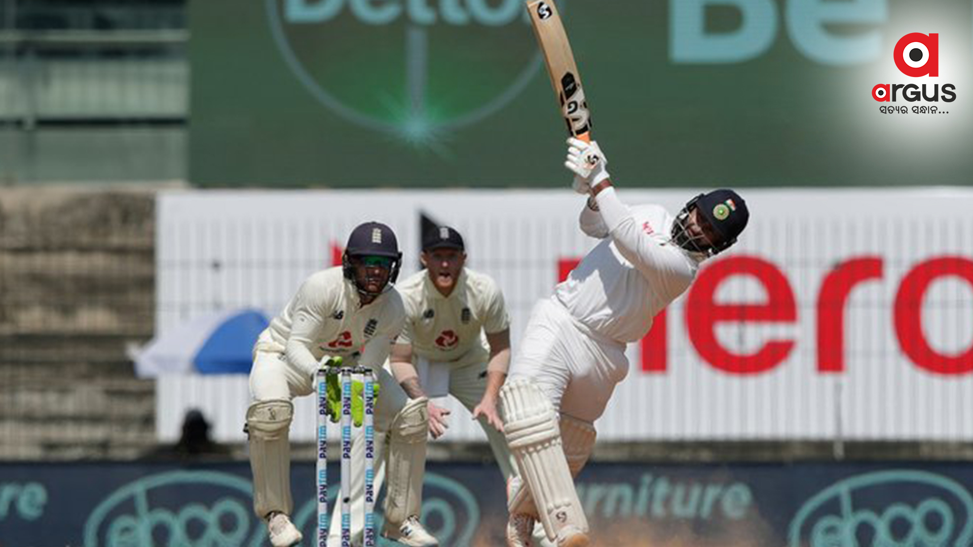 Chennai Test: India 257/6  against England at stumps on Day 3