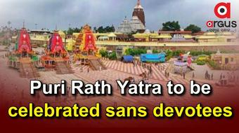 Rath Yatra 2021 to be celebrated in Puri only; no devotees for 2nd year in row