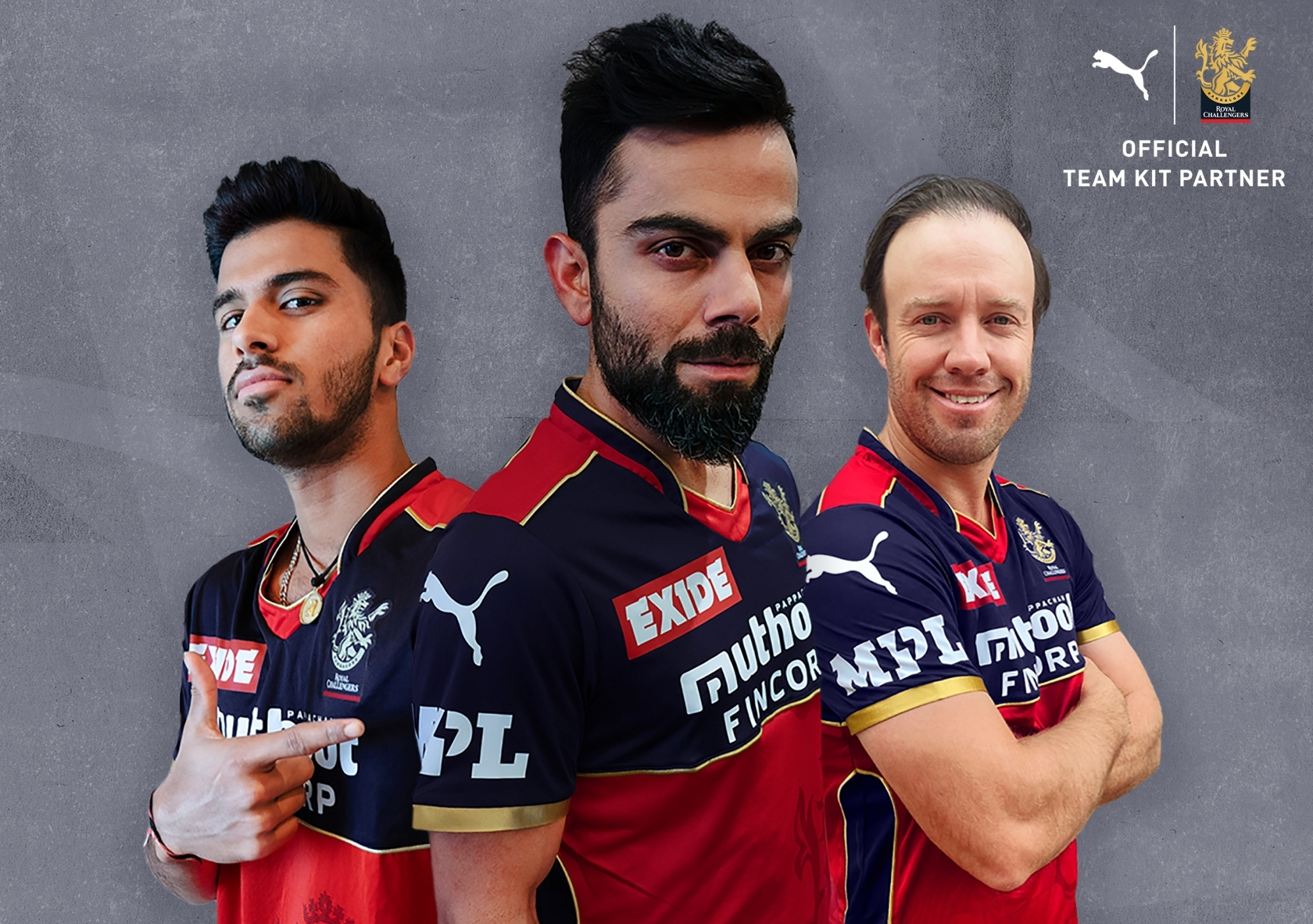 Puma to be RCB's official kit partner