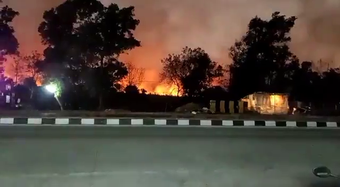 Simlipal forest fire: 5 teams of Fire Department reach Jashipur forest division