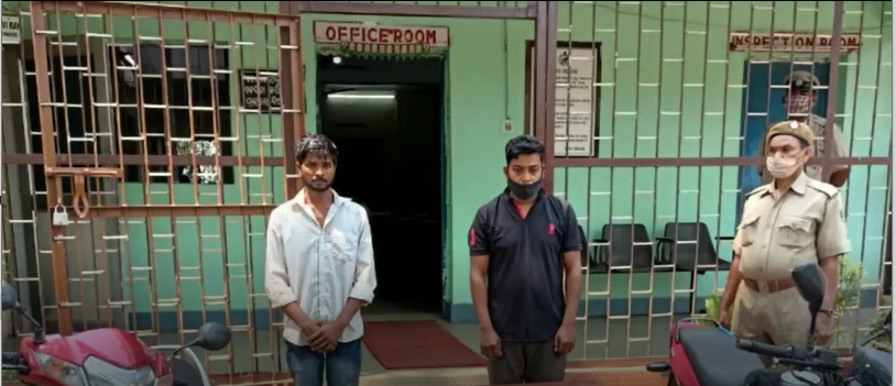 Two hardcore criminals arrested in Angul