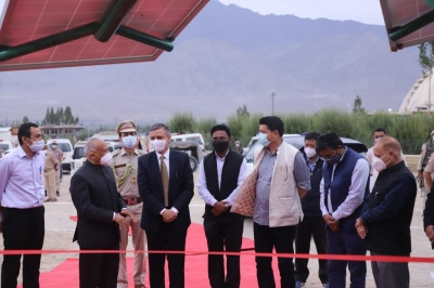 NTPC REL to setup country's 1st green Hydrogen Mobility project in Ladakh
