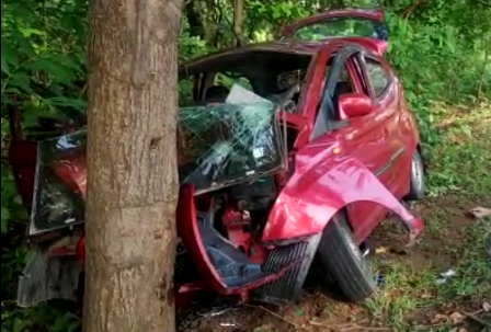 Couple killed after car crashes into roadside tree in Boudh