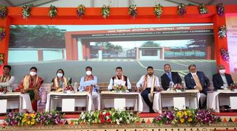 Puri, Pradhan lay foundation stone for Common User Petroleum Facility in Dhenkanal
