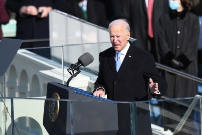 Biden calls for gun law reform on Parkland shooting anniv