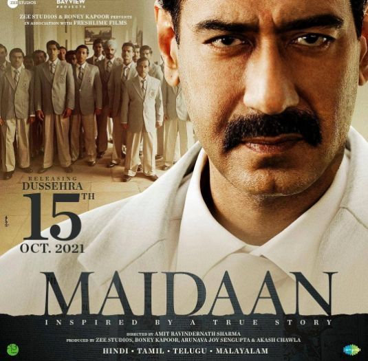 Ajay Devgn to begin final schedule of 'Maidaan' on Valentine's Day