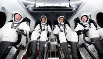 Inspiration4: SpaceX's all-civilian mission launches to orbit