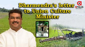 Dharmendra writes to Union Culture Minister for preservation of Swapneswar temple, Ratnachira