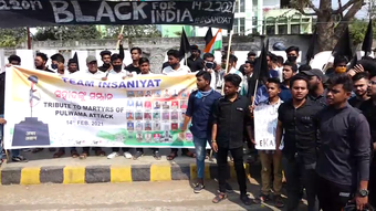 Team Insaniyat pays tributes to Pulwama martyrs