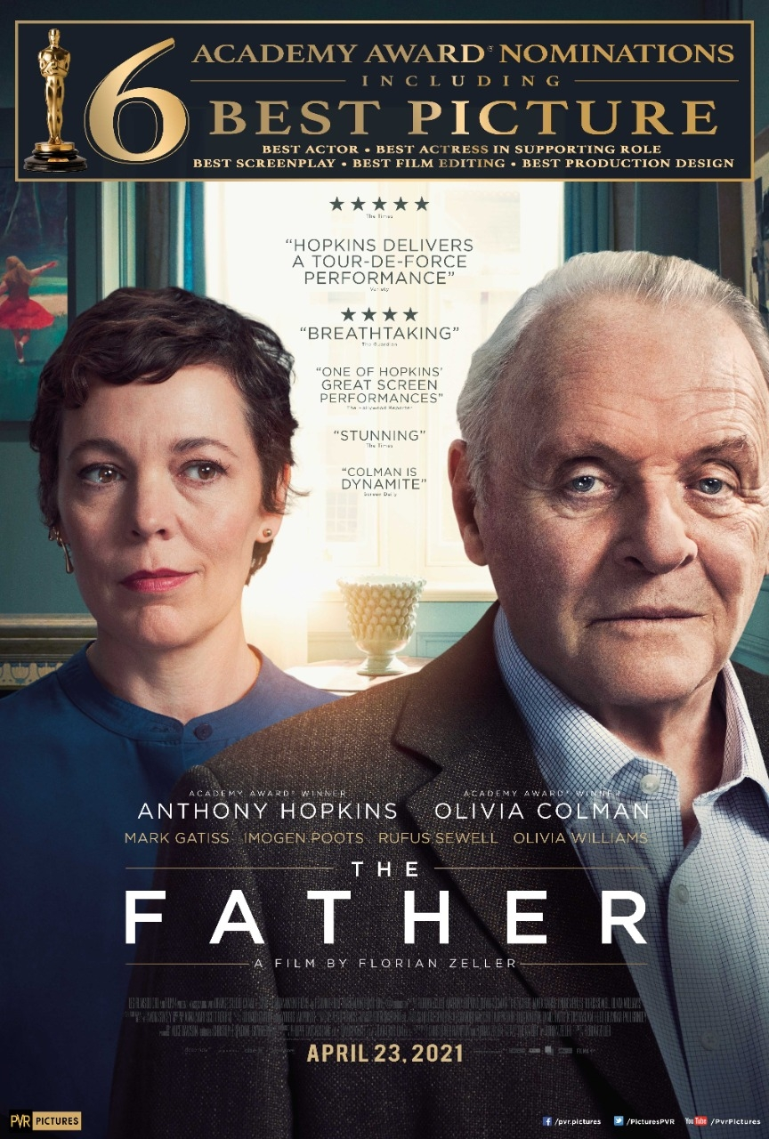 Oscar-nominated 'The Father' in Indian theatres on April 23