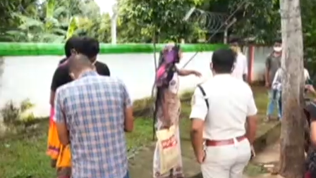 Class 10 student, mother attempt self-immolation before Minister Samir Dash's residence