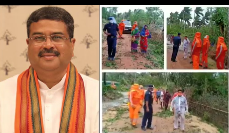 Pradhan to make aerial survey in Cyclone Yaas affected areas of Odisha today