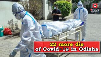 Coronavirus claims 22 more lives in Odisha; State toll rises to 2,357