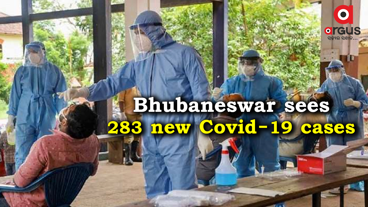 Bhubaneswar reports 283 new Covid-19 cases; Active cases stand at 1,192