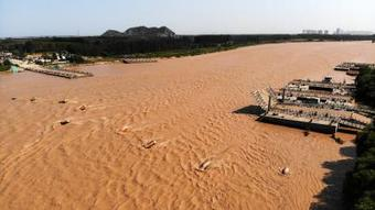 Water quality of China's Yellow River improved in last 5 yrs