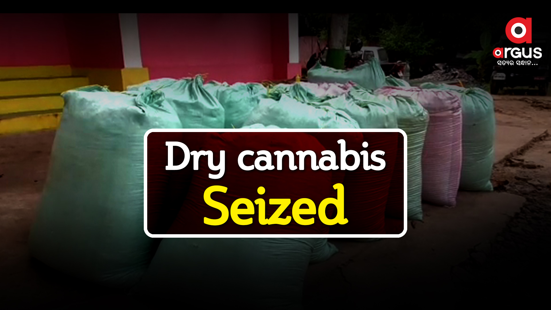 Bolero carrying 3.99 quintal 'bhang' seized, 1 held