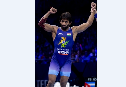 Punia wins 65kg gold at Rome Ranking wrestling