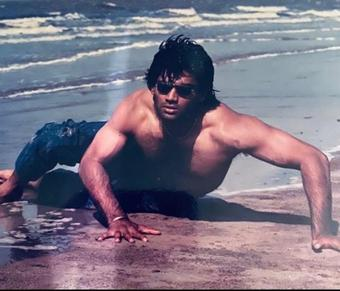 Suniel Shetty's throwback has left him wondering