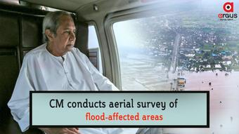 CM conducts aerial survey of flood-affected areas