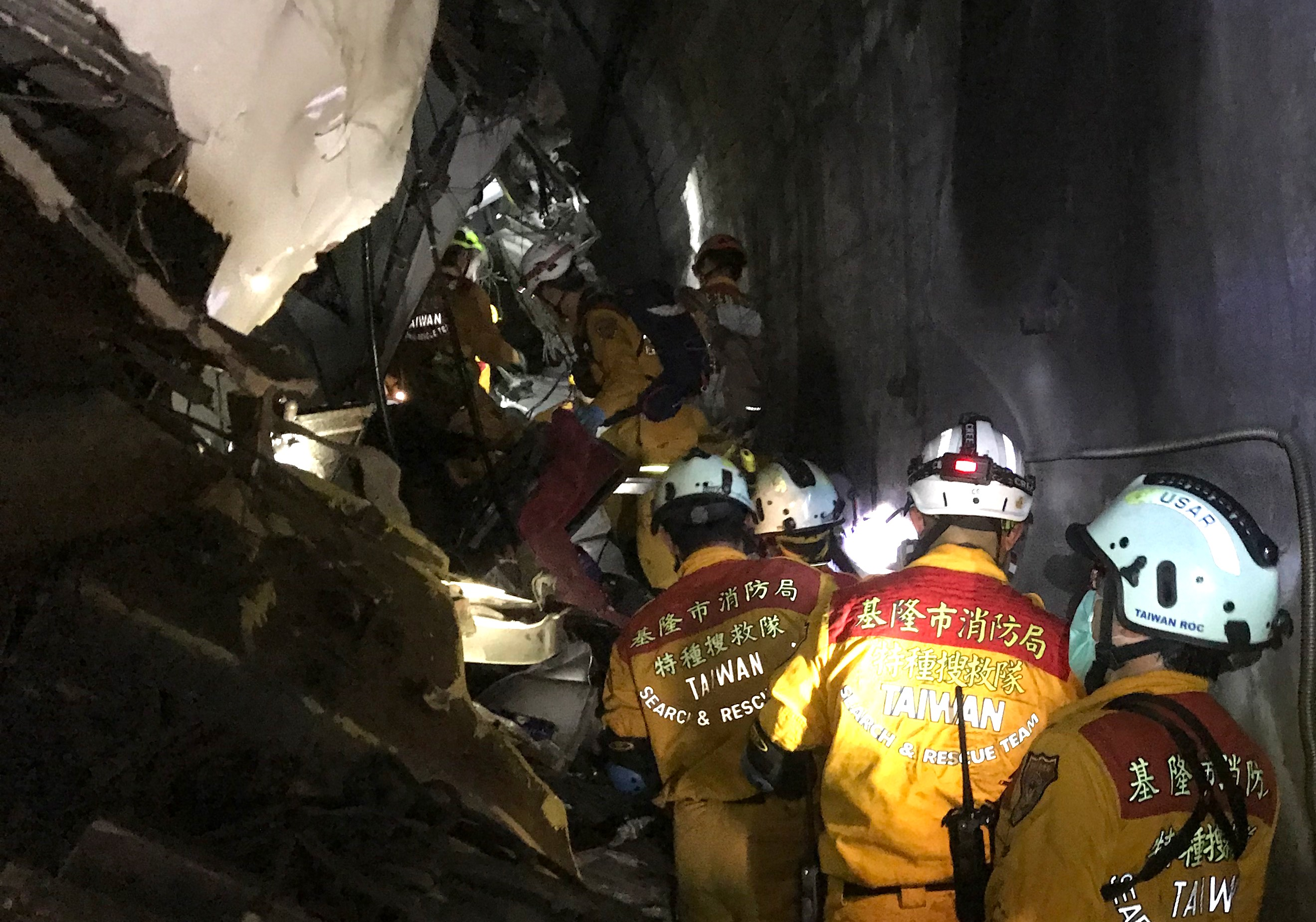 Deadly train derailment in Taiwan kills 48