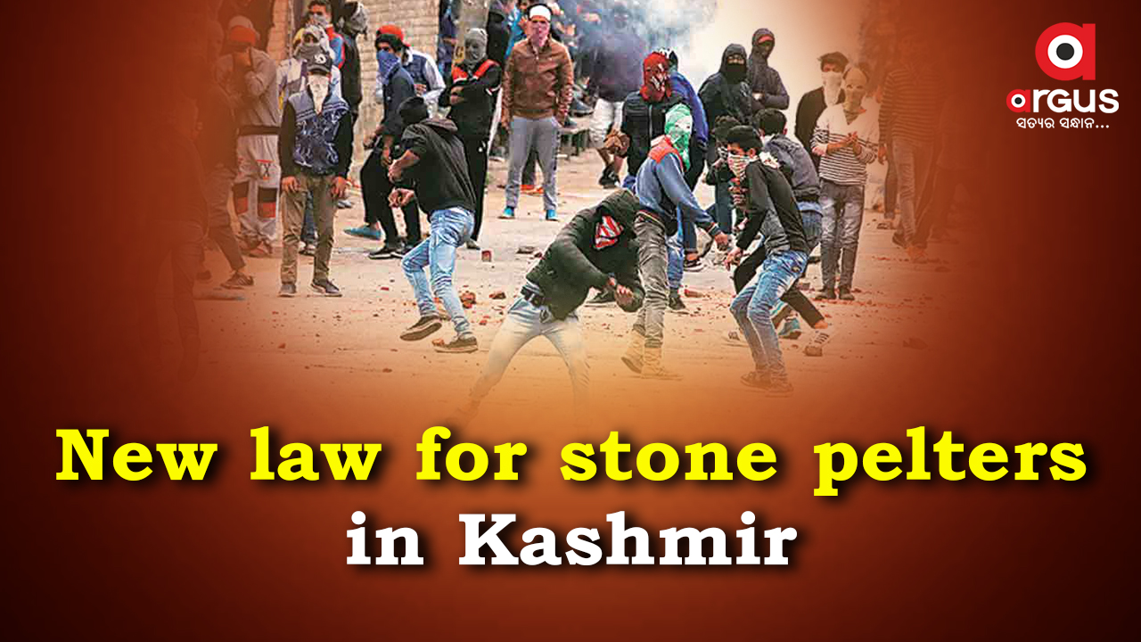 Action again stone-pelters a bold move to contain agitational terrorism