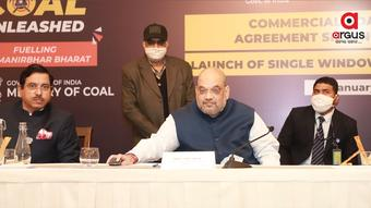 Amit Shah launches 'Single Window Clearance System' for coal mines