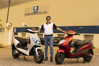 EVTRIC Motors launches 2 slow-speed electric scooters in India