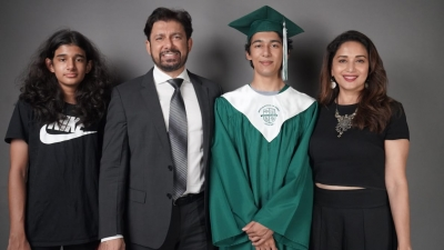 Madhuri Dixit is a 'proud parent' as son Arin graduates from high school