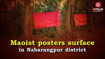 Maoist posters surface in Nabarangpur district, locals panic