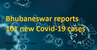 Bhubaneswar crosses 100 mark in daily Covid-19 cases