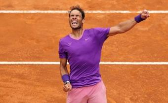 Nadal beats Djokovic for 10th Rome Open title